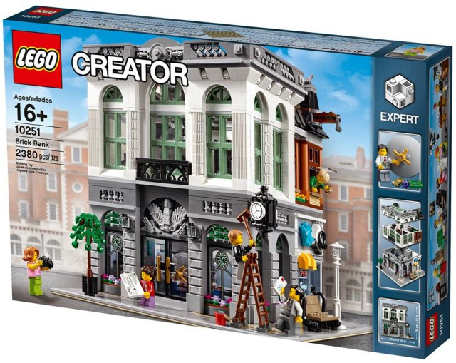 LEGO Creator Expert Brick Bank 10251 Box