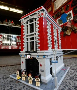 LEGO Ghostbusters Firehouse Headquarters 75827 Set
