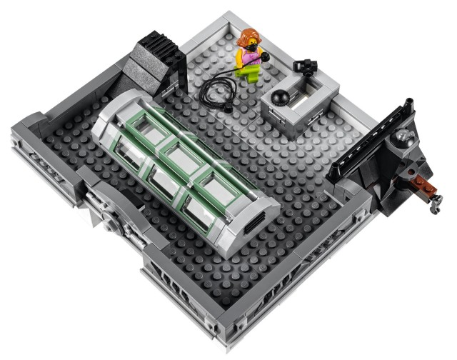 Roof of LEGO Creator Brick Bank Building Set
