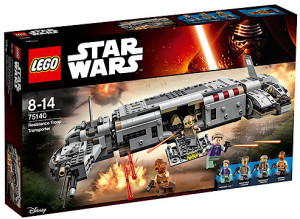 2016 LEGO Star Wars Resistance Troop Transport Box