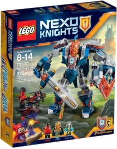 70327 LEGO Nexo Knights The King's Mech Box