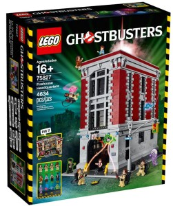 75827 LEGO Ghostbusters Firehouse Headquarters Box