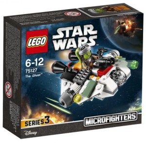 LEGO Star Wars Microfighters The Ghost 75127 Box
