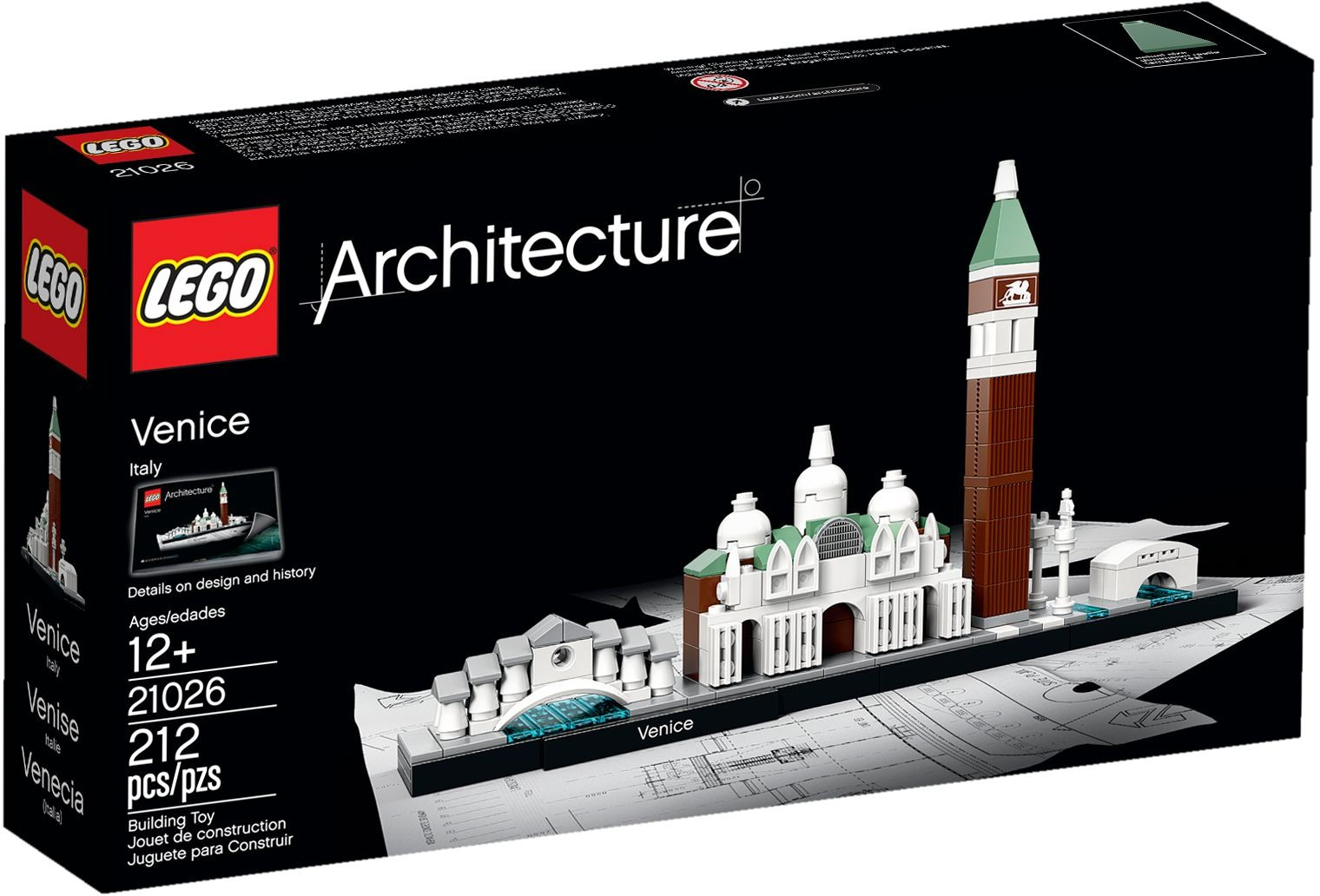 lego architecture venice sets york berlin box