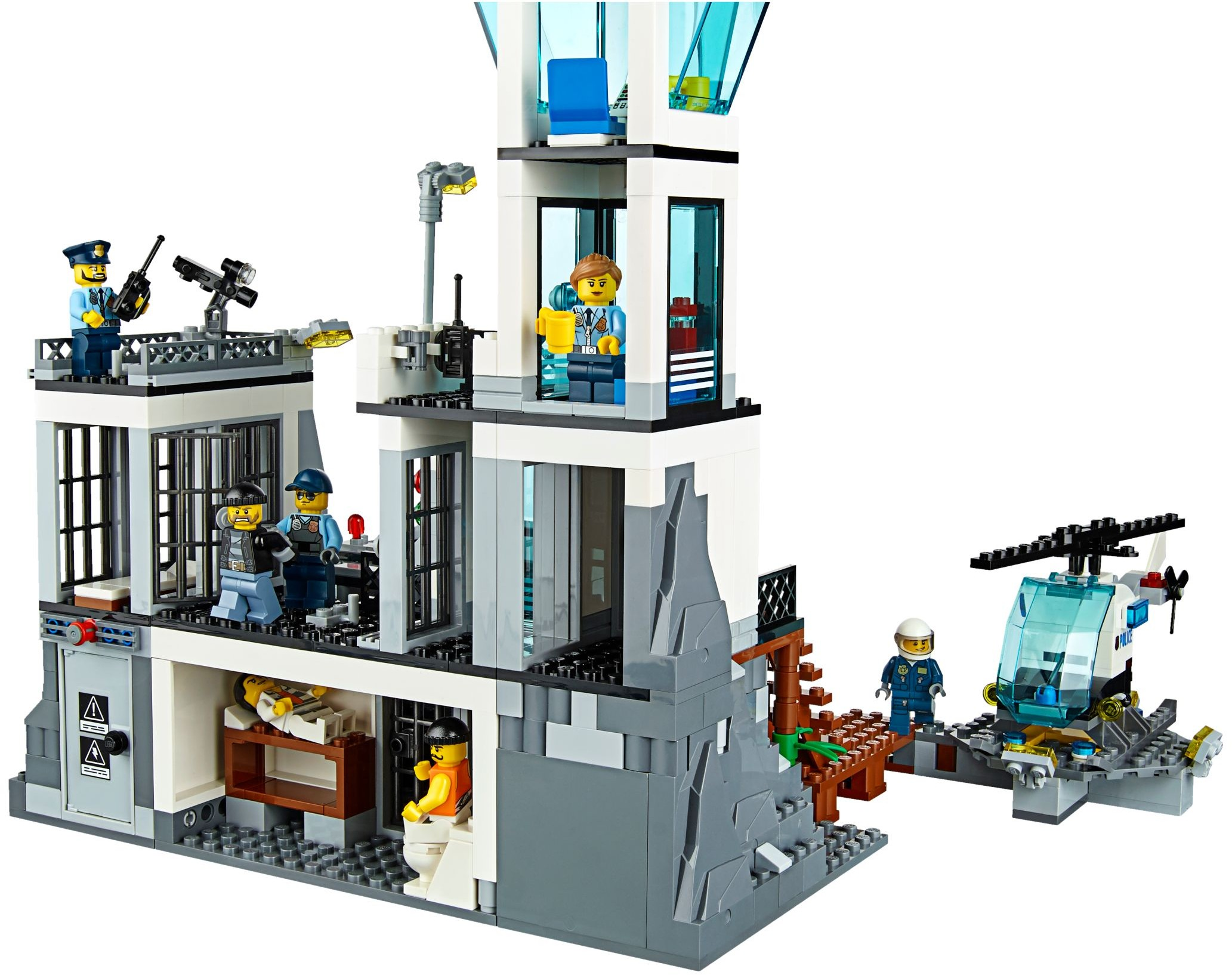 lego city 2016 prison island 60130 set photos preview. Black Bedroom Furniture Sets. Home Design Ideas
