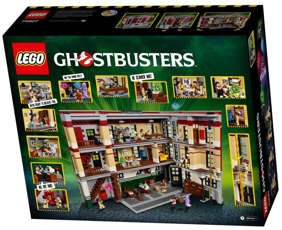 "neu LEGO Minifigur /""Louis Tully/"" aus Ghostbusters Set 75827"