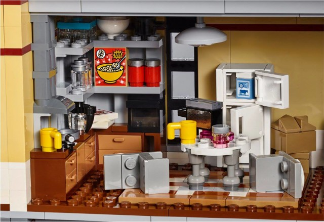 LEGO Ghostbusters Kitchen Interior of Fire House