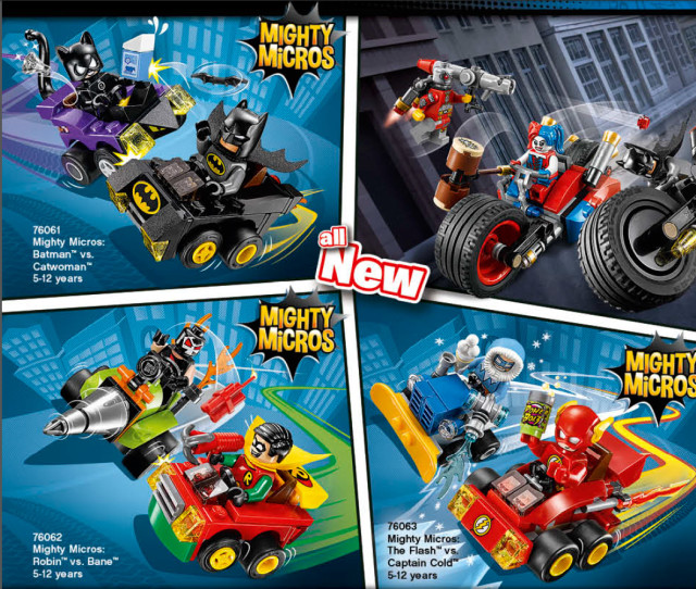 2016 LEGO DC Superheroes Mighty Micros Sets