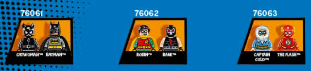 2016 LEGO Mighty Micros DC Superheroes Minifigures