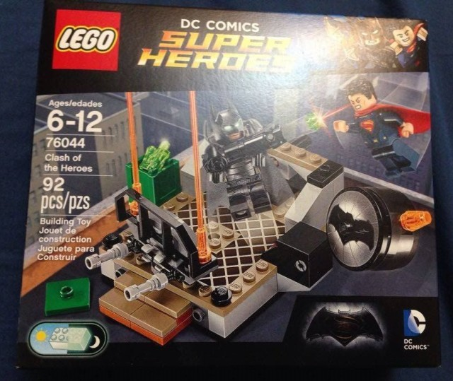 76044 LEGO Batman vs. Superman Clash of the Heroes Box