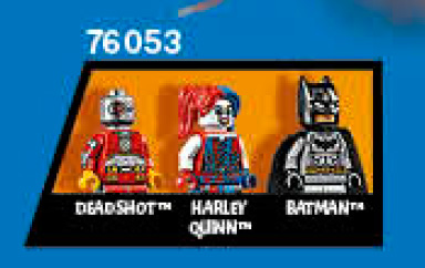 76053 LEGO DC 2015 Minifigures Deadshot Harley Quinn Batman