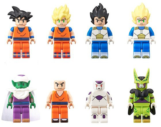 Bandai Dragon Ball Z Minifigures Series 1 Figmes