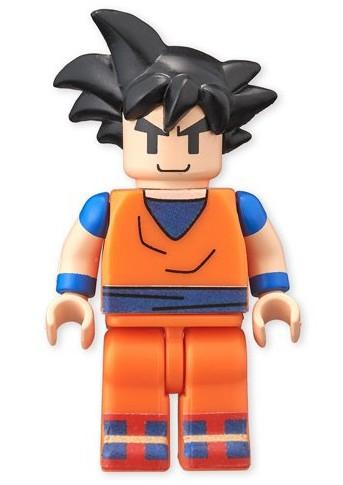 Bandai Dragonball Z Goku Minifigure Figmes Series 1