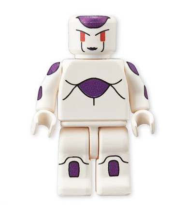 Bandai Frieza Dragon Ball Z LEGO Minifigures Figure