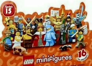 LEGO Minifigures Series 15 71011 Photos Case Flap