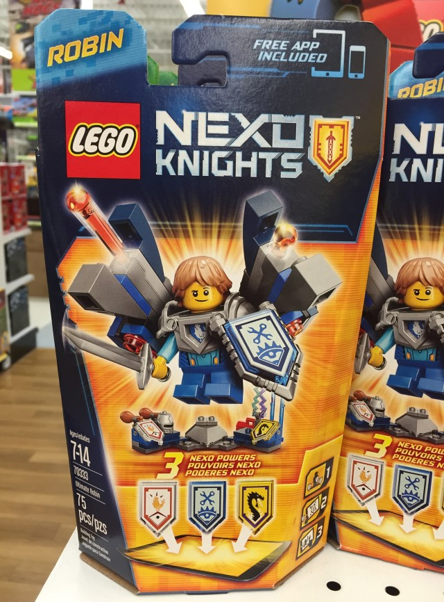 70333 Ultimate Robin Nexo Knights Set