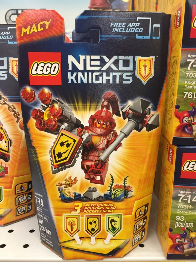 LEGO Nexo Knights Ultimate Macy 70331