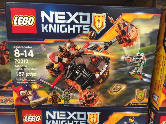 70313 Moltor's Lava Smasher Nexo Knights Set