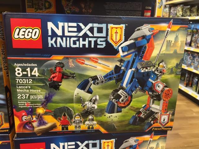 LEGO Lance's Mecha Horse 70312