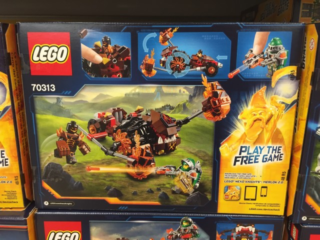 LEGO 2016 Nexo Knights Moltor's Lava Smasher Box