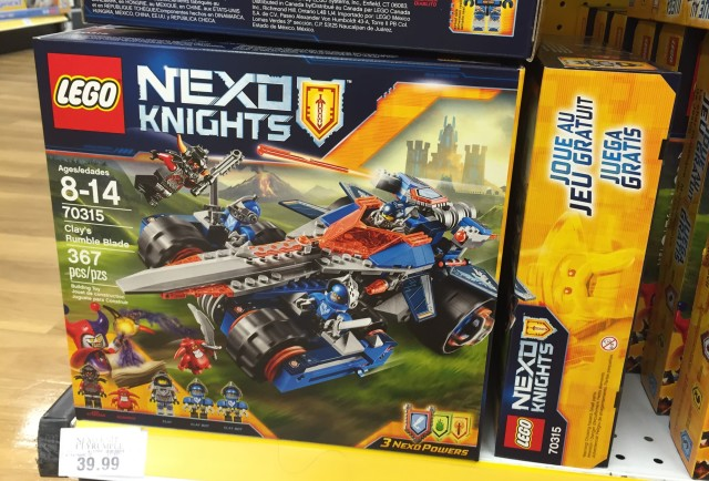 Nexo Knights Clay's Rumble Blade 70315