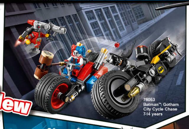 LEGO 2016 Batman Gotham City Cycle Chase 76053 Set