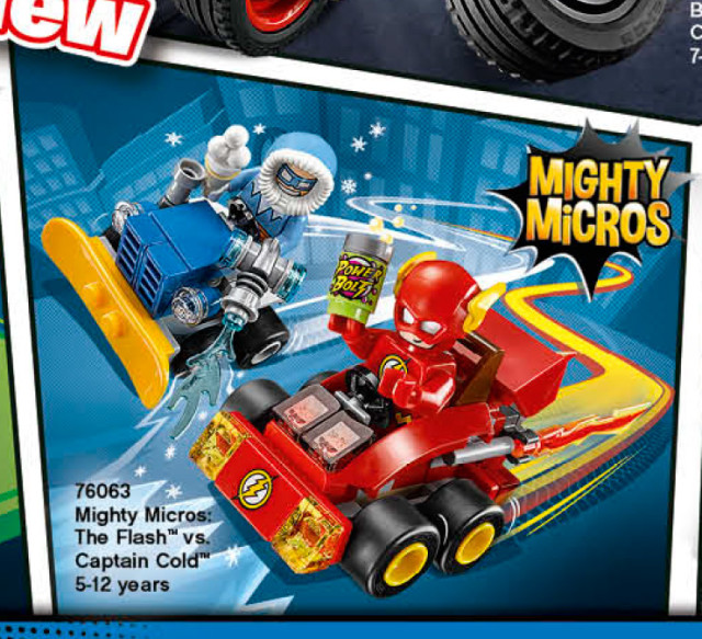 LEGO 2016 DC Mighty Micros Flash vs Captain Cold 76063