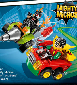 LEGO DC 2016 Robin vs Bane Mighty Micros 76062 Set