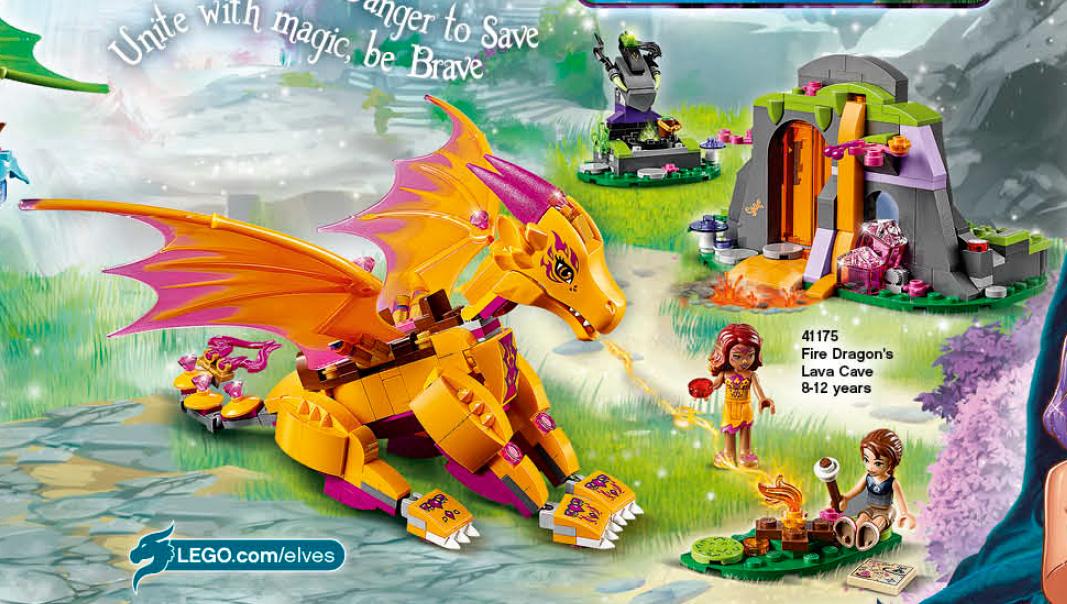 LEGO Elves 2016 Sets List & Photos Preview! DRAGONS! - Bricks and Bloks