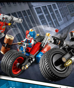 LEGO Suicide Squad DC Set Batman Gotham City Cycle Chase