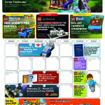 February 2016 LEGO Store Calendar! Promos Deals & Events!