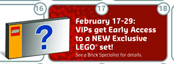 February 2016 LEGO VIP Early Access Exclusive Set Classic Batcave