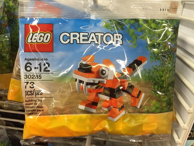LEGO Tiger 30285 Polybag Set