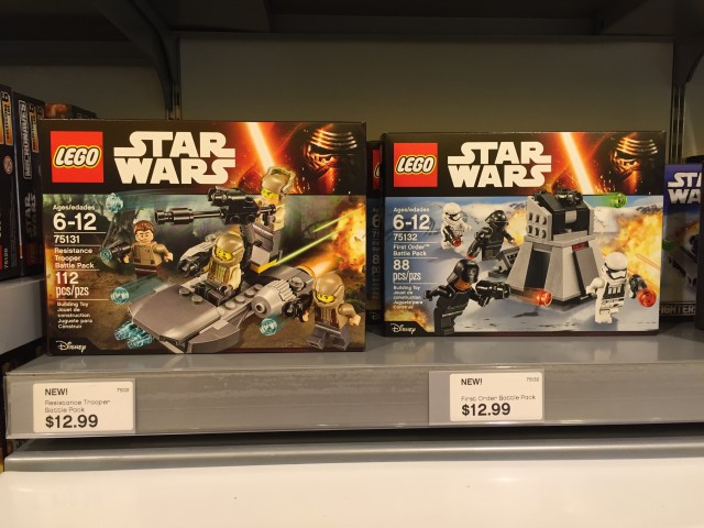 LEGO Force Awakens Battle Packs