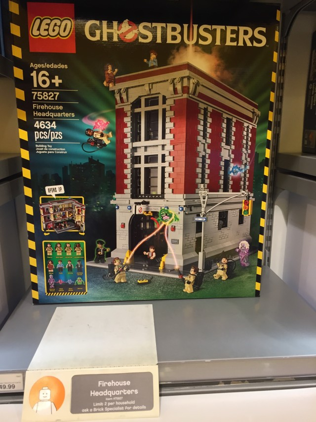 LEGO Ghostbusters Firehouse Set Up for Order