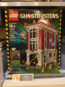LEGO Ghostbusters Firehouse Headquarters Set Released