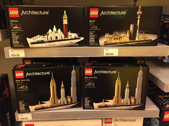 LEGO Architecture 2016 Sets Released