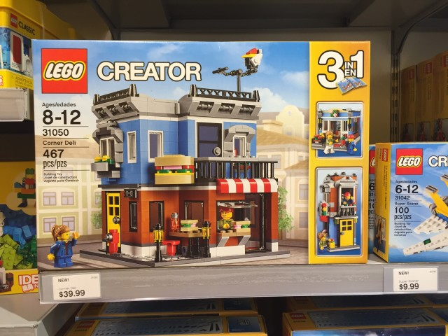 2016 LEGO Creator Deli Corner Set Released