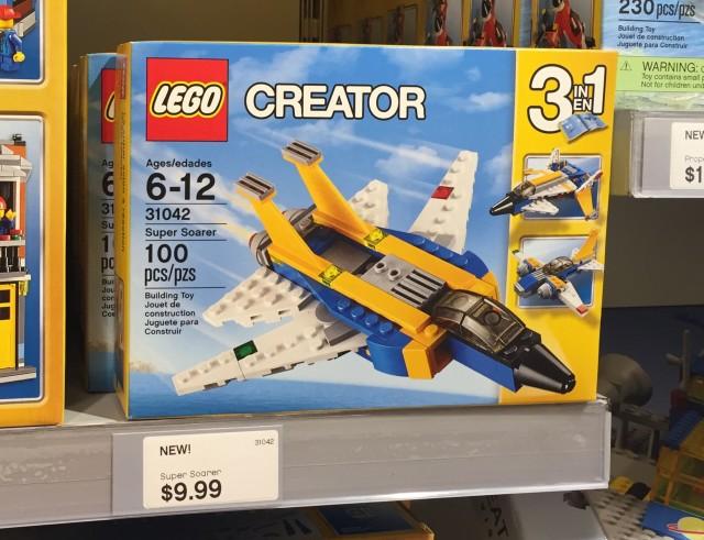 31042 LEGO Creator Super Soarer Set