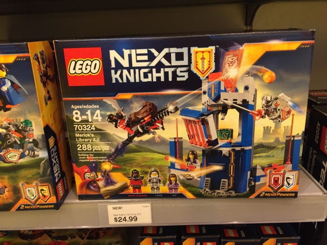LEGO Nexo Knights Merlok's Library 2.0 Released