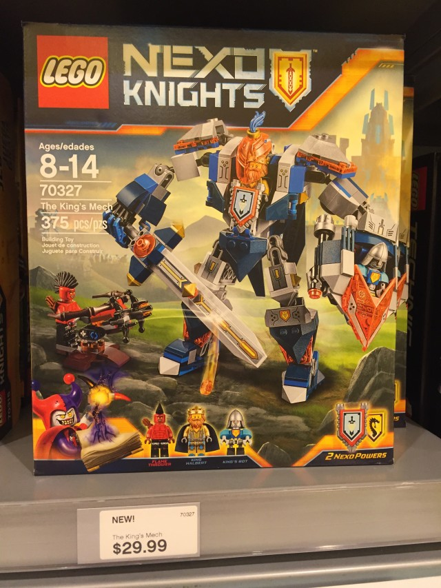 The King's Mech 70327 LEGO Nexo Knights Set Released