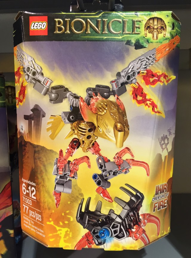 2016 LEGO Bionicle Creature of Fire Set Released