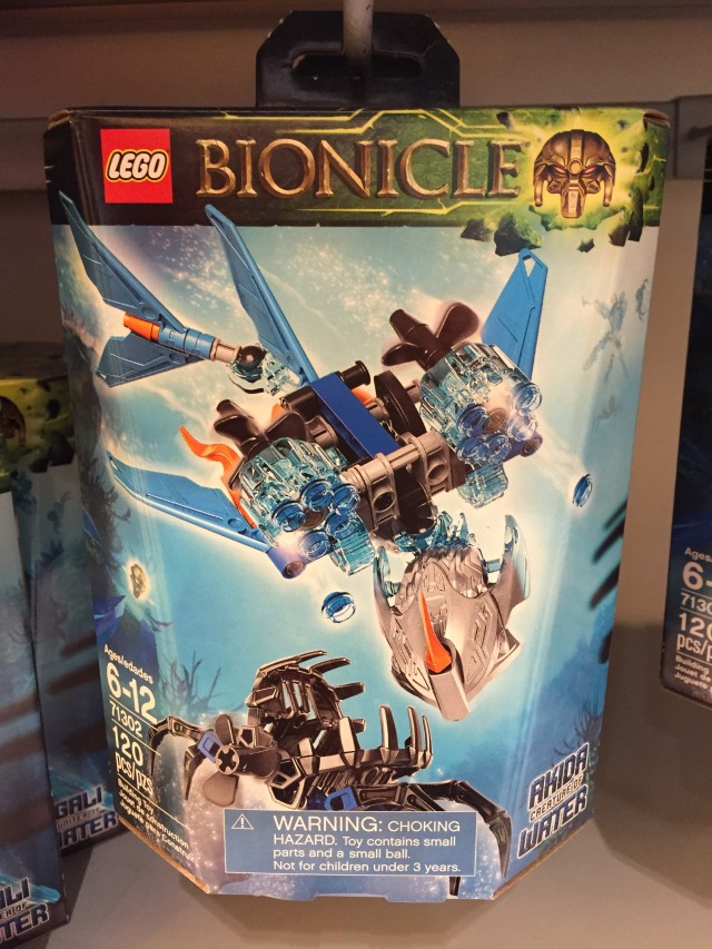 LEGO Bionicle 2016 Creature of Water Set