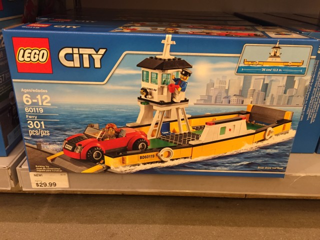 LEGO City Ferry 60119 Set Box