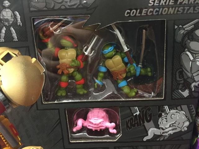 TMNT Collector Series Figures Krang Raphael Leonardo