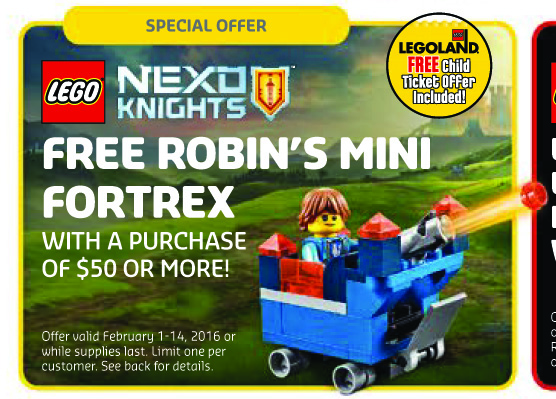 LEGO 30372 Robin's Mini Fortrex Polybag Promo Set