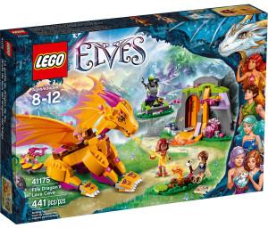 LEGO 41175 Fire Dragon's Lava Cave Box Elves Winter 2016 Set