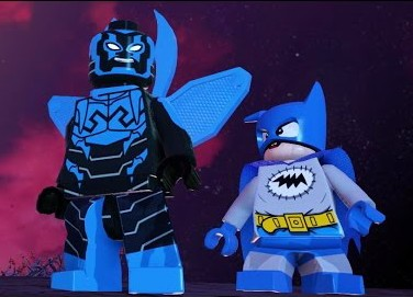 LEGO Batman 3 Beyond Gotham Blue Beetle Screenshot