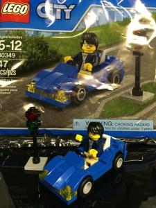 LEGO City 2016 Sports Car 30349 Set Built