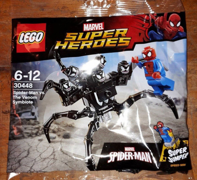 LEGO Marvel Spider-Man vs The Venom Symbiote Set